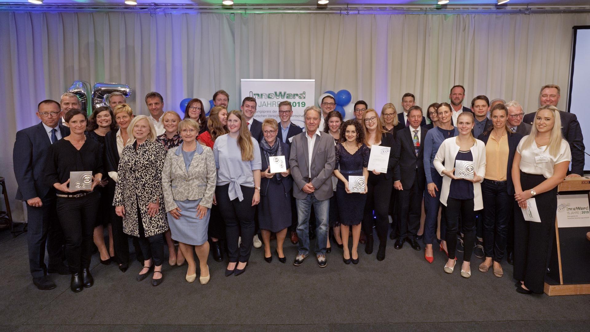 InnoWard 2019 Preisträger Gruppe